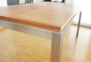 esstisch holz my design einrichtung auf mass. Black Bedroom Furniture Sets. Home Design Ideas