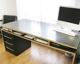 schreibtisch my design einrichtung auf mass. Black Bedroom Furniture Sets. Home Design Ideas
